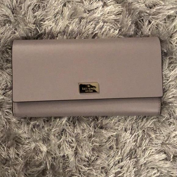 Brand new never used Kate Spade leather wallet